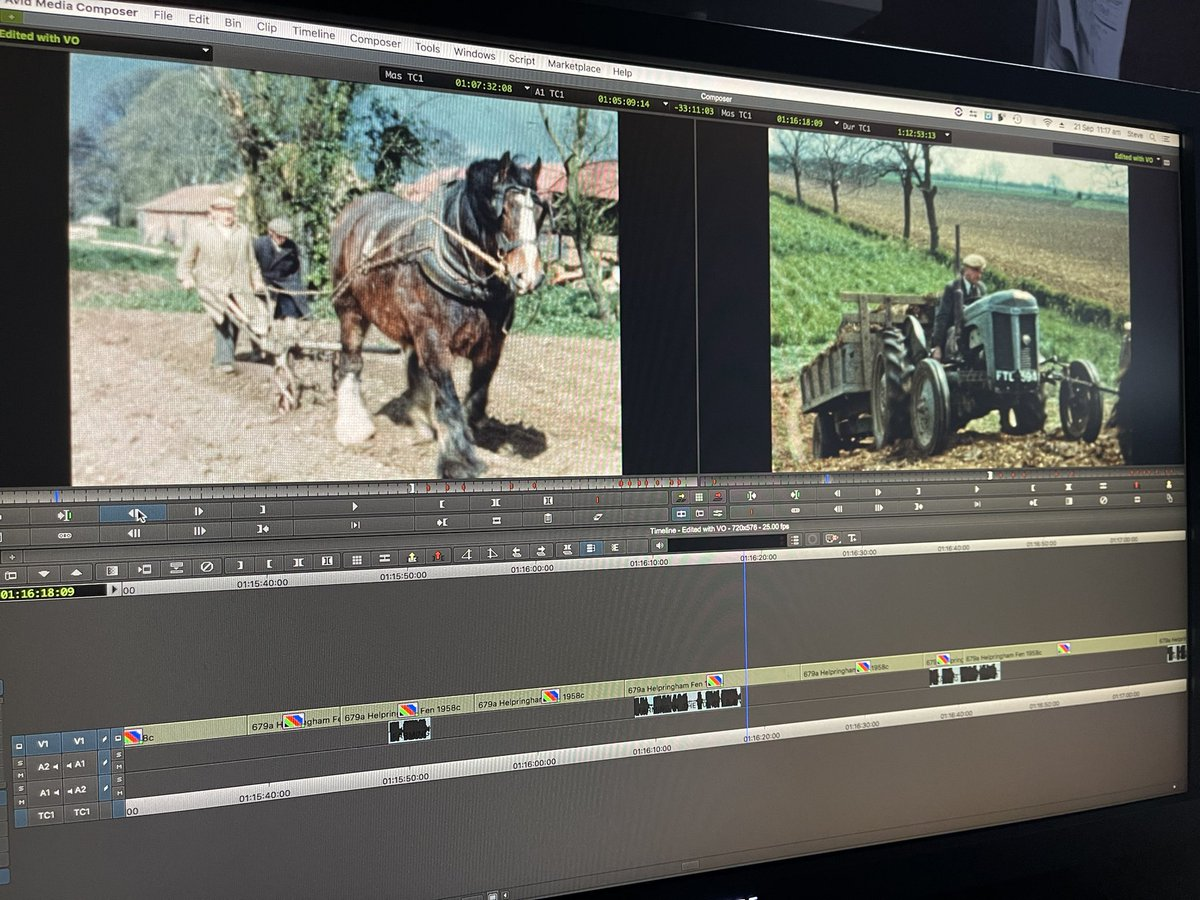 test Twitter Media - RT @LincFilmArchive: Adding @AlanStennett superb narration to our new Christmas DVD Farming in the Sixties. https://t.co/fF3yH5Ukku