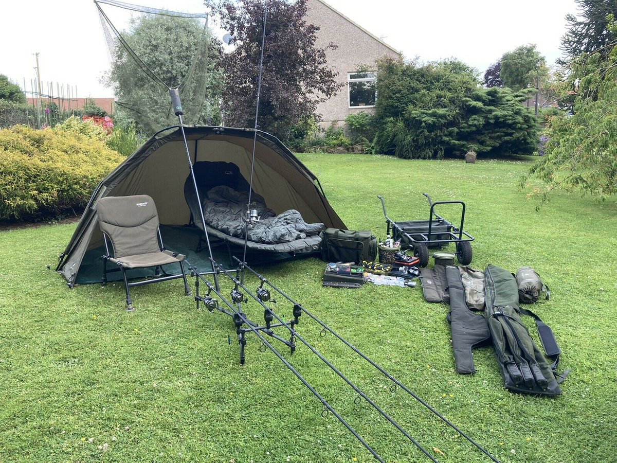 Ad - Complete Carp Fishing Set-up For Sale On eBay here -->> https://t.co/UaqvtAOwzr  #carpfis