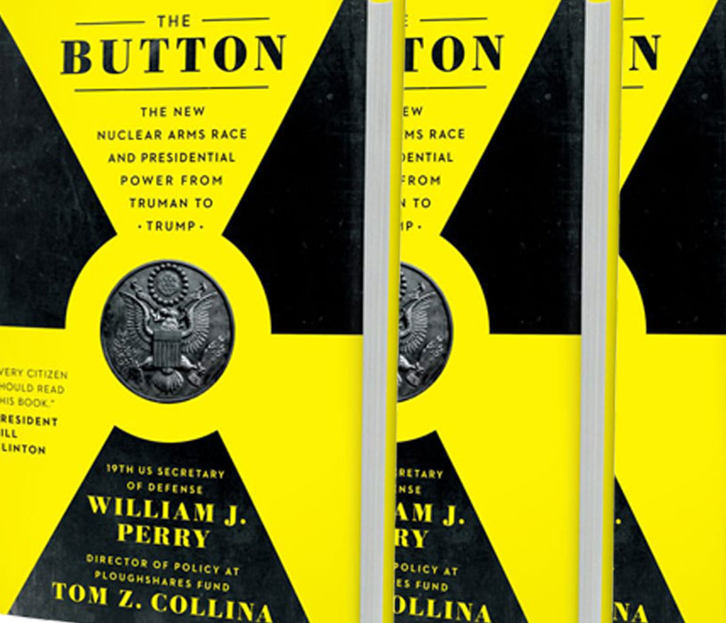 """Dive into these important recommendations for a safer world in this excerpt from """"The Button,"""" the new book from former Secretary of Defense William Perry and @plough_shares policy director Tom Collina:"""