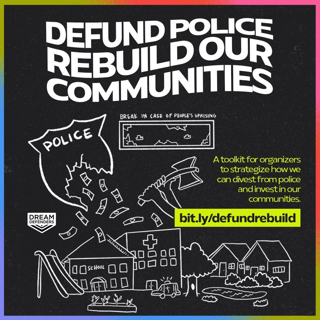 Looking for ways to #defundthepolice? We put together some options you can do locally. Download the toolkit: