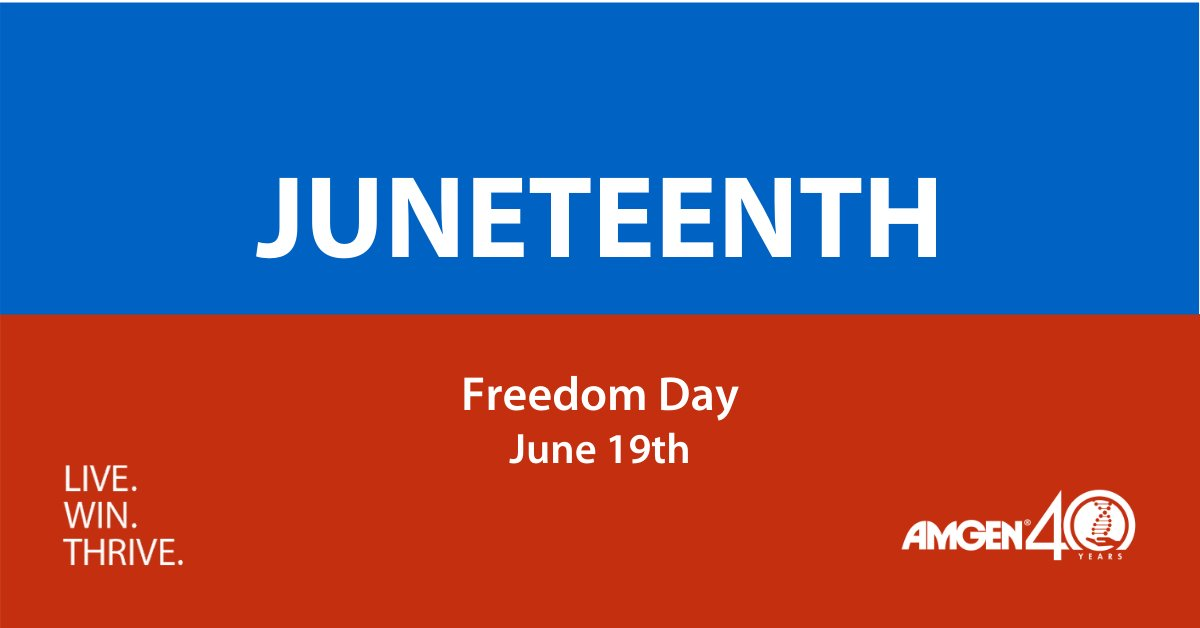 #Juneteenth - short for 'June Nineteenth' - signifies the effective end of slavery in the United States. Join us in celebrating this important moment in history and learn about how this holiday came to be:  #DefyImagination