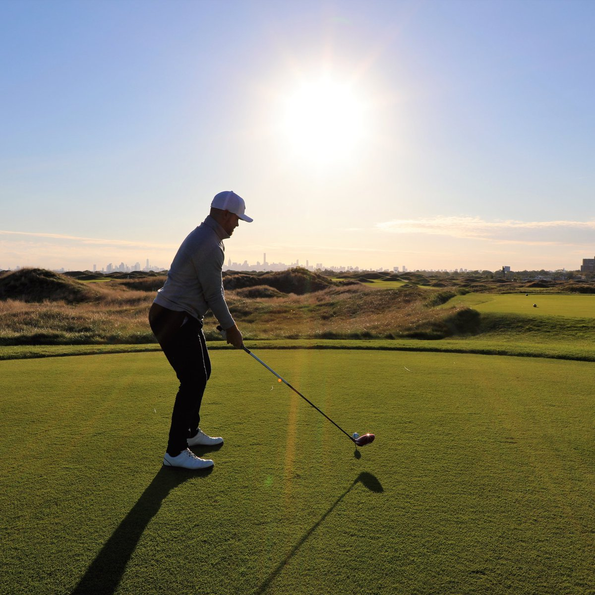 Take in the iconic New York City skyline while golfing at @TrumpFerryPoint! This world-class public course officially reopens Monday, June 22nd. Visit  to book your tee time!