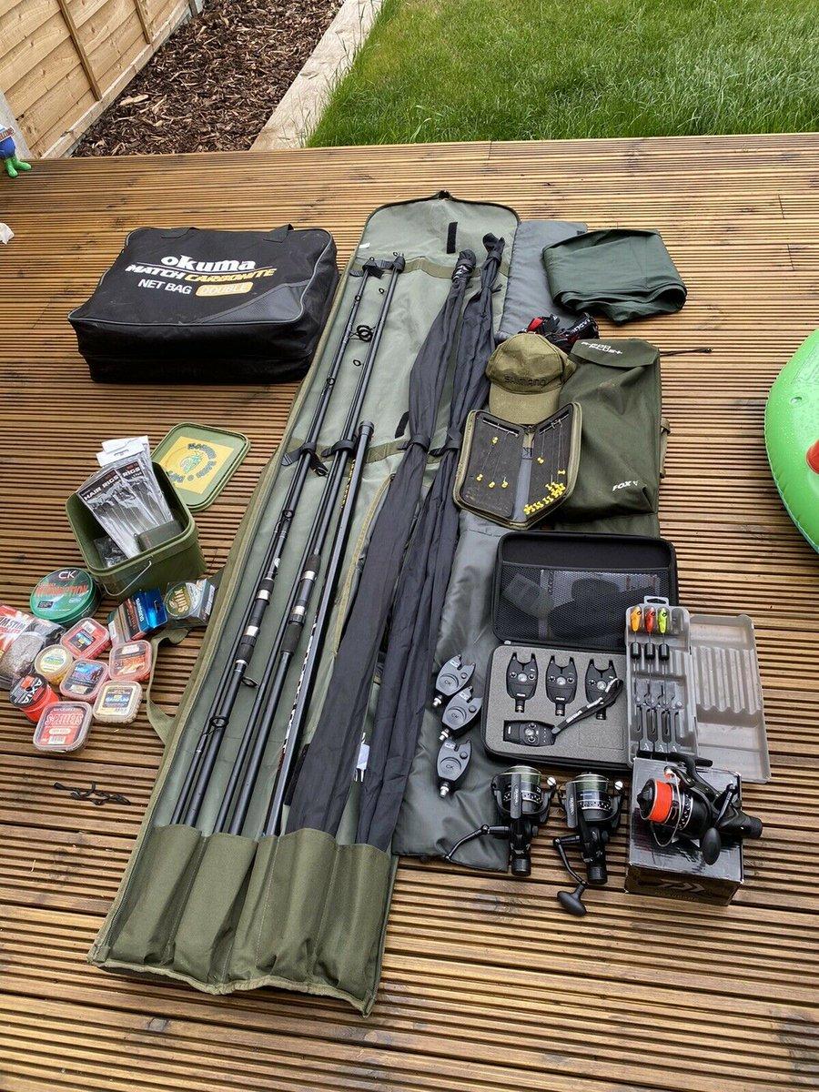 Ad - Carp Fishing Set Up - Daiwa, Fox, Prologic On eBay here -->> https://t.co/qNQpSUE2j0  #ca