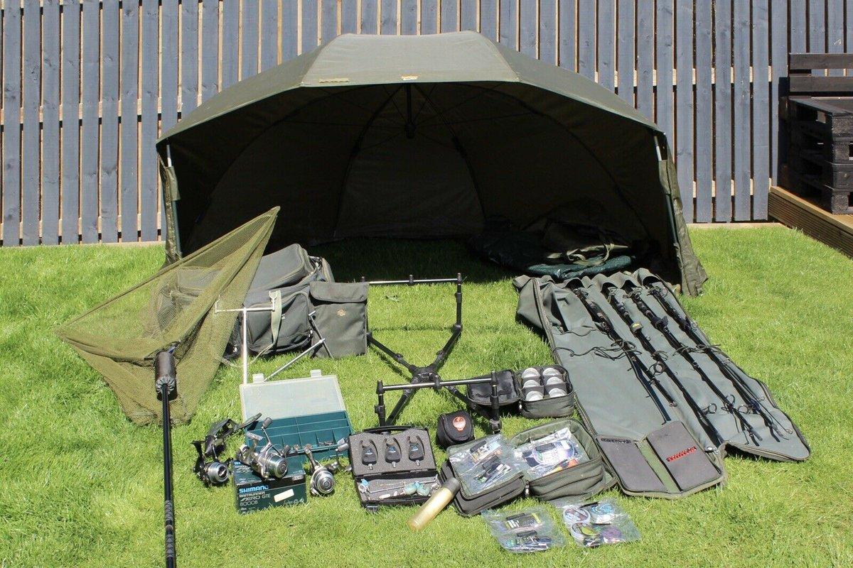 Ad - Complete Carp Fishing Set Up On eBay here -->> https://t.co/kdOyqTbw0t  #carpfishing http