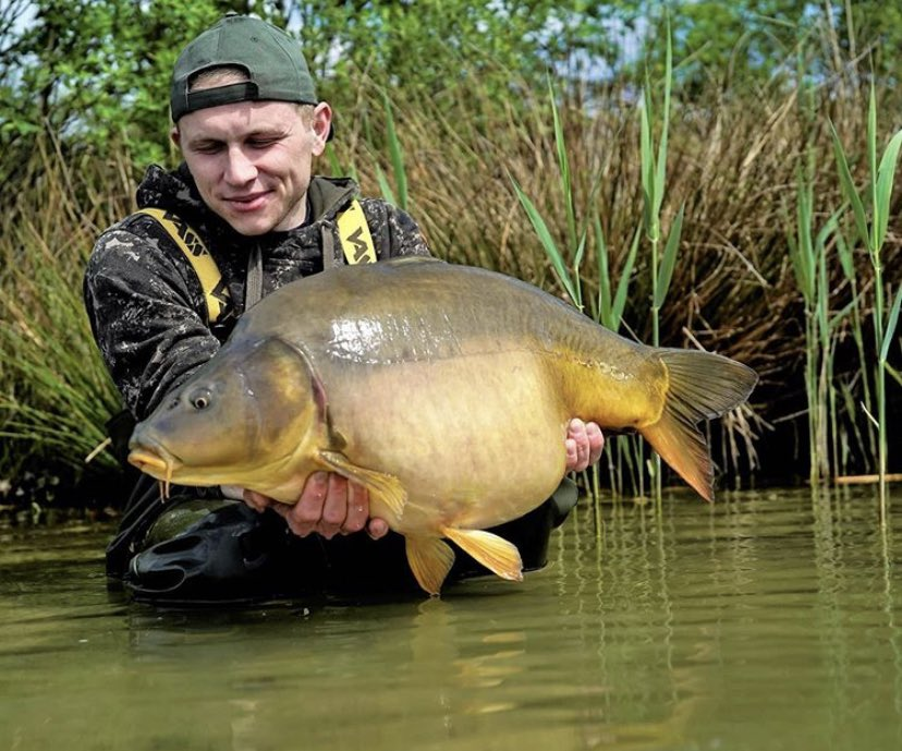 Loving this one from Matheus 💪🏻🎣  @TheCARPbible  #Carp #CarpFishing #Fishing #TheCARPbible