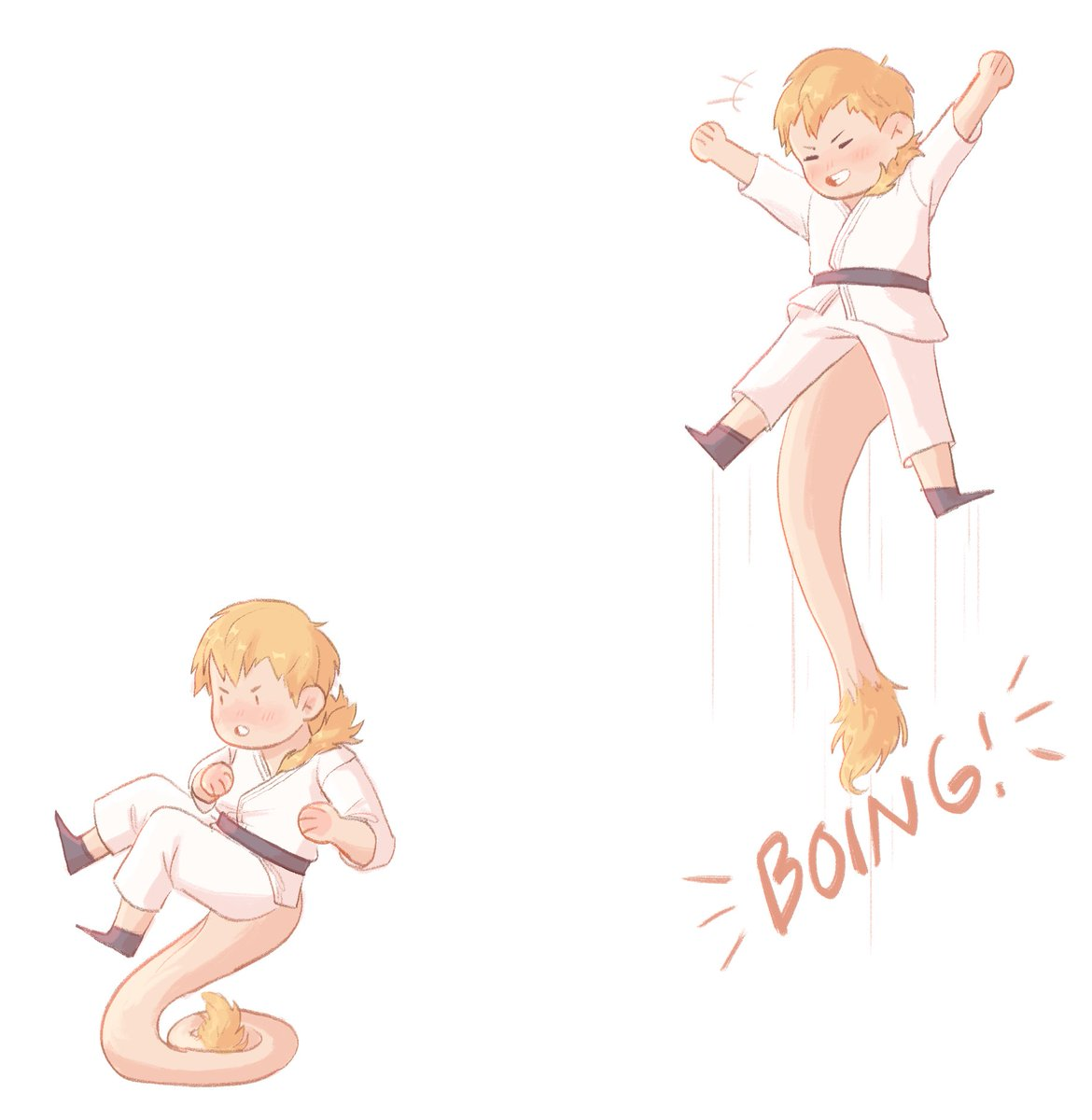 What if...Ojiro used his tail like this...  #bnha #ojiro
