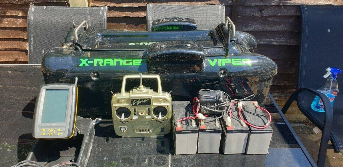 Ad - VIPER X-RANGE BAIT BOAT On eBay here -->> https://t.co/Fs05bZEl32  #carpfishing #<b>Baitb