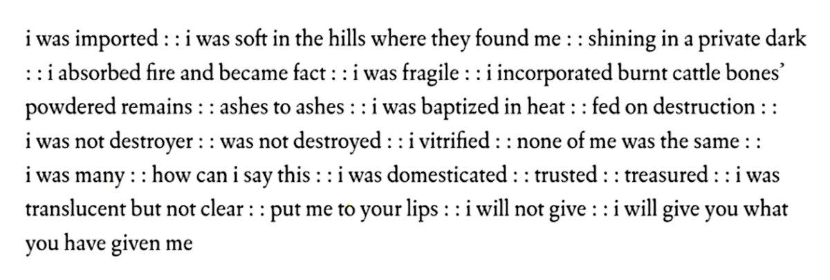 test Twitter Media - RT @FenceBooks: my life as china, a poem by @seminewblack, from the new black @weslpress, 2011: https://t.co/DzyldsADxk