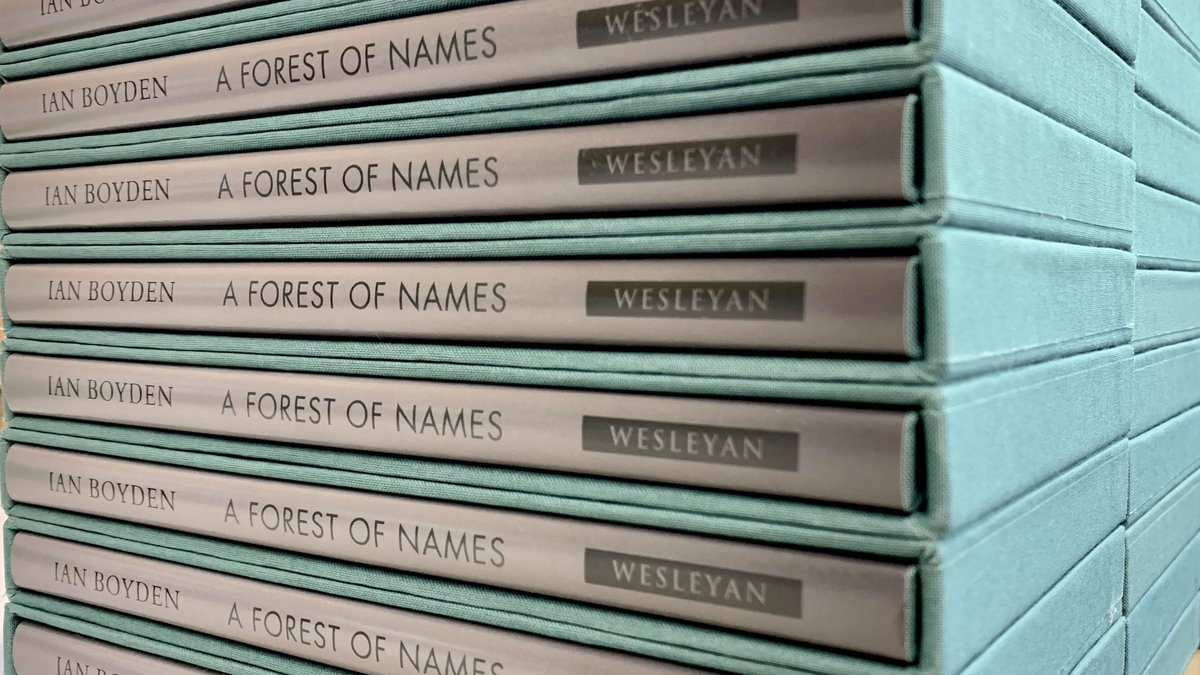 test Twitter Media - RT @_IanBoyden: OMG. The special edition of A FOREST OF NAMES in production. 😍😳😬🥶😱🤩🤓🥳🥰 https://t.co/ln1jPzEOJ3