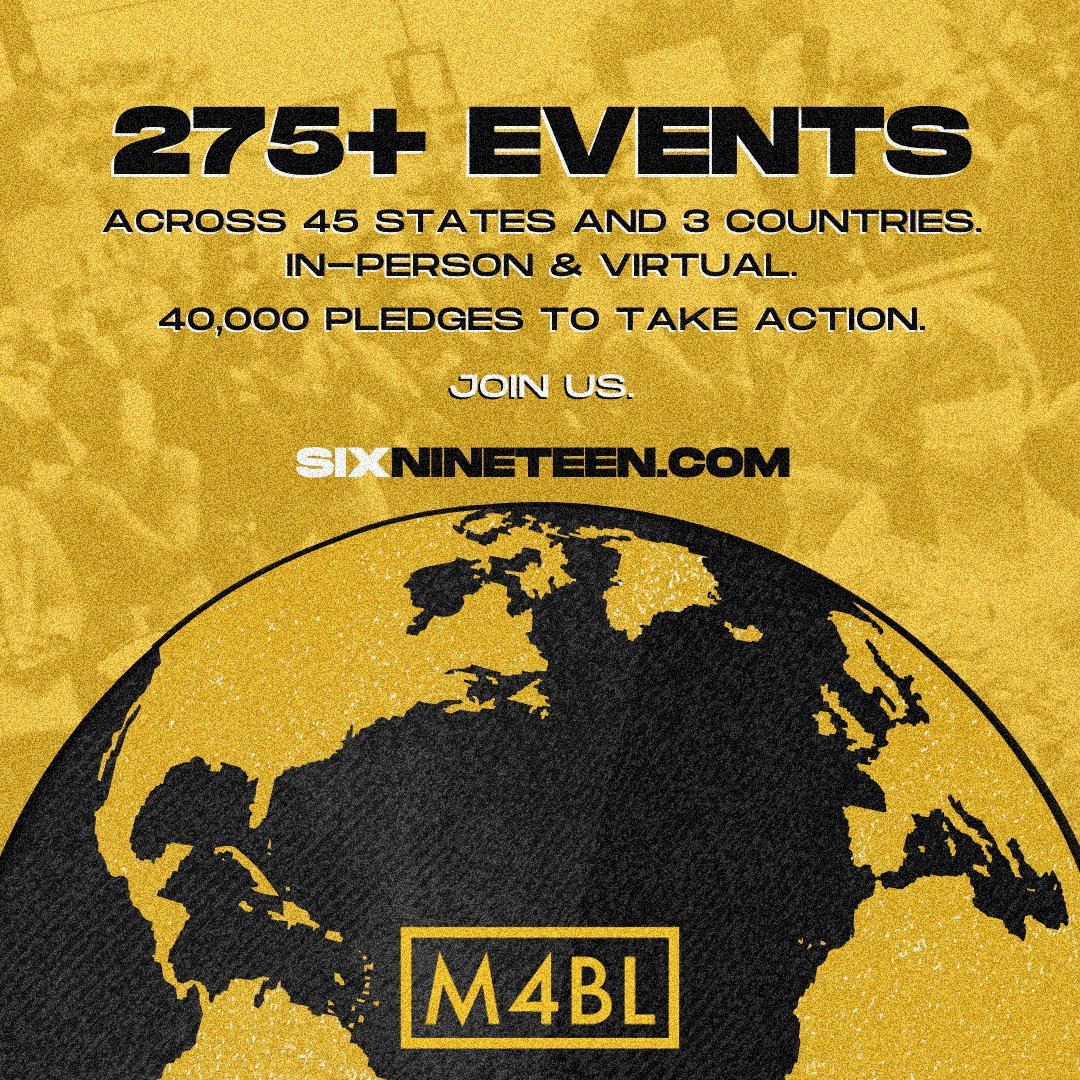 We are now one day away from an amazing moment of Black celebration and joy that will reverberate across continents with 275+ public events in motion, including globally with virtual events being planned in Montpellier, France and Damaturu, Nigeria.