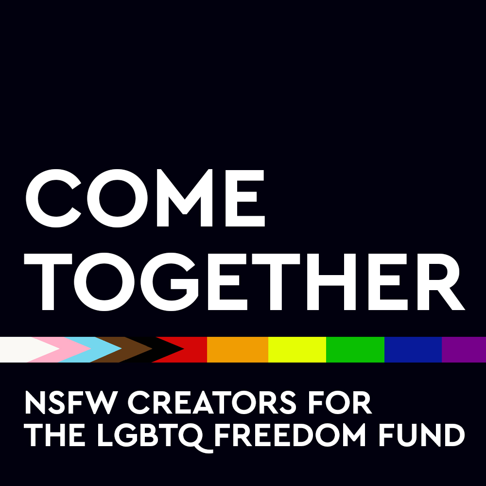 Here we go, folks! Your favorite adult content creators are coming together 😏 to raise $ for @LGBTQ_Freedom, which posts bail for LGBTQ folks in need. Please consider donating via ActBlue - we have a SPECIAL THANK YOU GIFT for you!