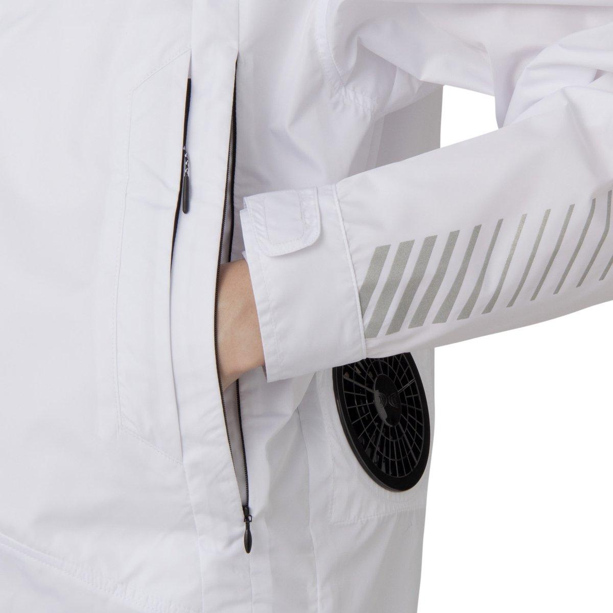 test ツイッターメディア - 「アシックス」が小型のファン付きウェアを発売。熱を感知する神経が集中する手元を冷やして体感温度を効率良く下げる設計を採用。夏場の運動時、インターバルや運動後の体温調整に活躍。 https://t.co/swhxUG5Sit https://t.co/lWPDBOgV3C