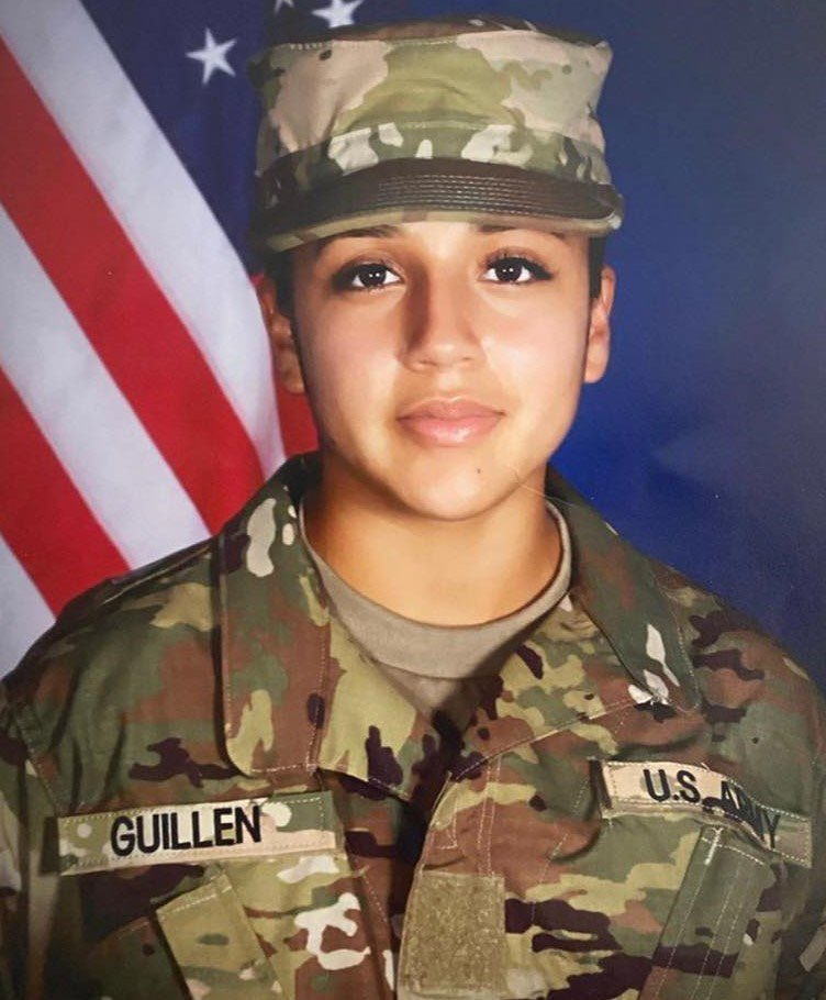 SAY. HER. NAME.  Vanessa Guillen was serving her country, and in return she was sexually harassed, brutally murdered, and her body dumped. Justice needs to be served. She was only 20 years old 💔 #VanessaGullien