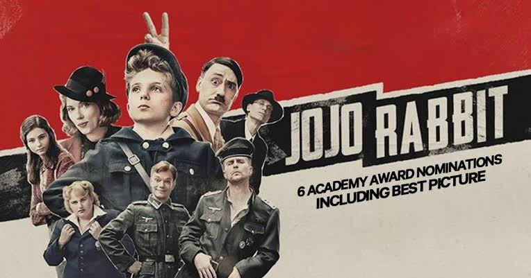 อยากให้ไปดู Jojo Rabbit กัน หนังดีมากจริง ต่อไปหนังแนวนี้จะได้เข้าอีก เรื่องนี้มันเกือบจะไม่ได้เข้ามาฉายอ่ะ ยิ่งอิพวกเขียนบทอ่ะไปดูเถอะ