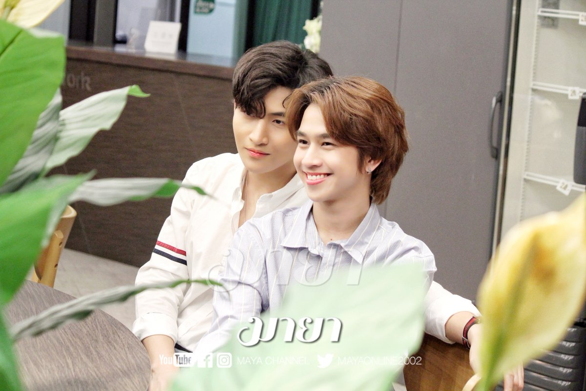 Let's meet #OhmFluke the one and only, thank for having each other at #MayaChannel today. #MayaExclusiveEp2xOhmFluke, English version is available on   Thanks to the Eng sub from @Flukeat1stSight  #คุณหนูขี้อายกับคุณชายเจ้าชู้ #เจ้าแก้มก้อน ของ #โอห์มไง
