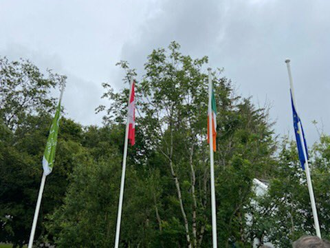 test Twitter Media - A poignant ceremony today in Connemara National Park with @canadaireland to mark #CanadaDay2020 & to pay tribute to our colleague & former Deputy Head of Mission @IrlEmbCanada Micheal Hurley, RIP. 🇮🇪🤝🇨🇦 https://t.co/l53POAndlK