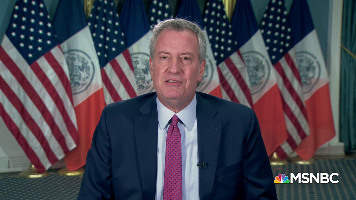 """NYC Mayor de Blasio says """"Black Lives Matter"""" will be painted on Manhattan's 5th Ave. in """"a matter of days.""""   Whenever Pres. Trump comes back to New York, """"he'll get a message that he still doesn't understand. Maybe seeing it outside his doorstep will help him get the point."""""""