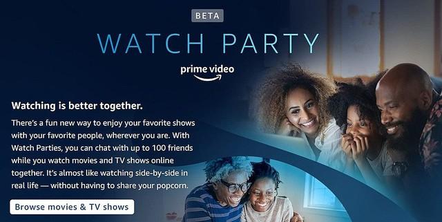 test ツイッターメディア - 【日本にも欲しい】米Amazonプライムビデオにウォッチ・パーティー機能が追加 https://t.co/SGu26Y2c9p  最大100人の友達と映画やドラマの同時視聴が可能になる機能。視聴中にチャットすることもできる。 https://t.co/CgXVwoYW6e