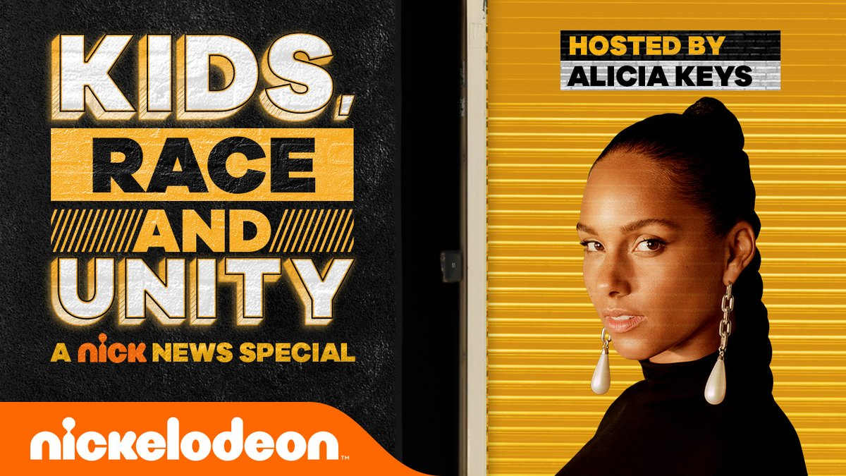 #NickNews is back with a special made for families. Watch @aliciakeys and guests talk about kids, race and unity →