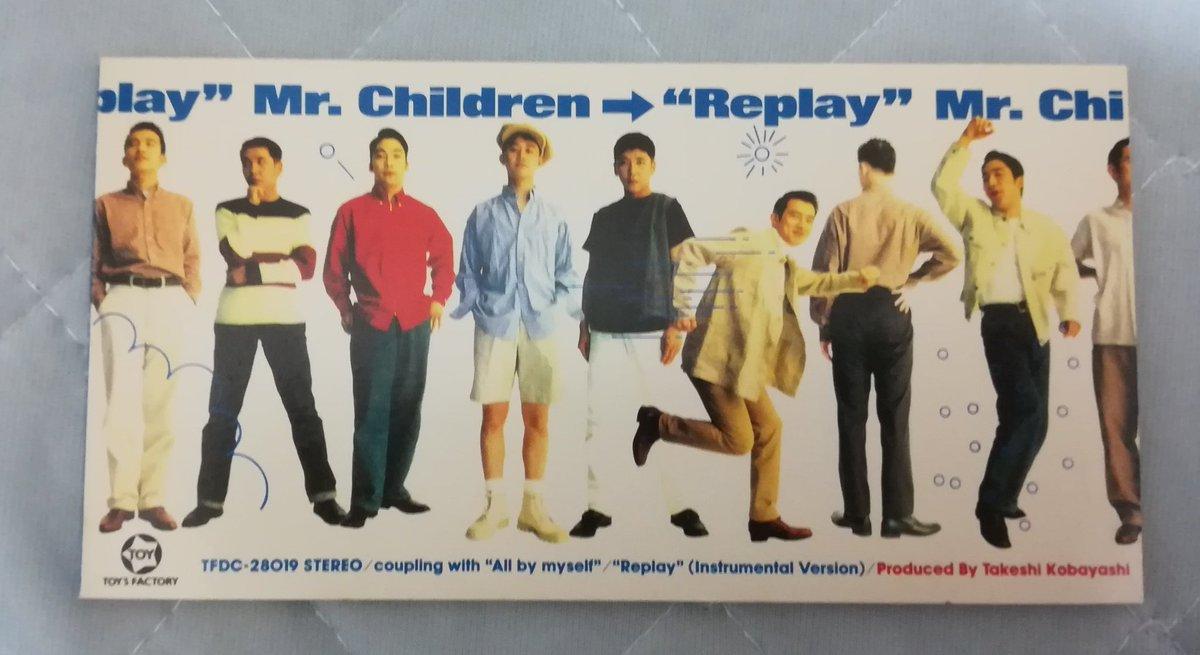 test ツイッターメディア - 🎵7/1の11曲 replay #Mr_Children  1993/07/01 TFよりリリース 3rd single オリコン最高19位 8.8万枚  詞曲/桜井和寿 編/小林武史&Mr.Children この頃のミスチルの程良いおちゃらけ感がよかったですね😄 まさか、次作があんなに大ヒットするとは…🙀 https://t.co/QOK6kIzUVS