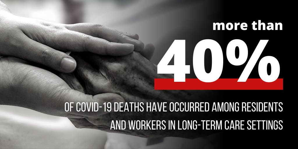 According to a new report from @SenBobCasey, the Trump Admin delayed funding and guidance for states on nursing home oversight measures —leading to the #NursingHomeCrisis and over 54,000 unnecessary deaths.
