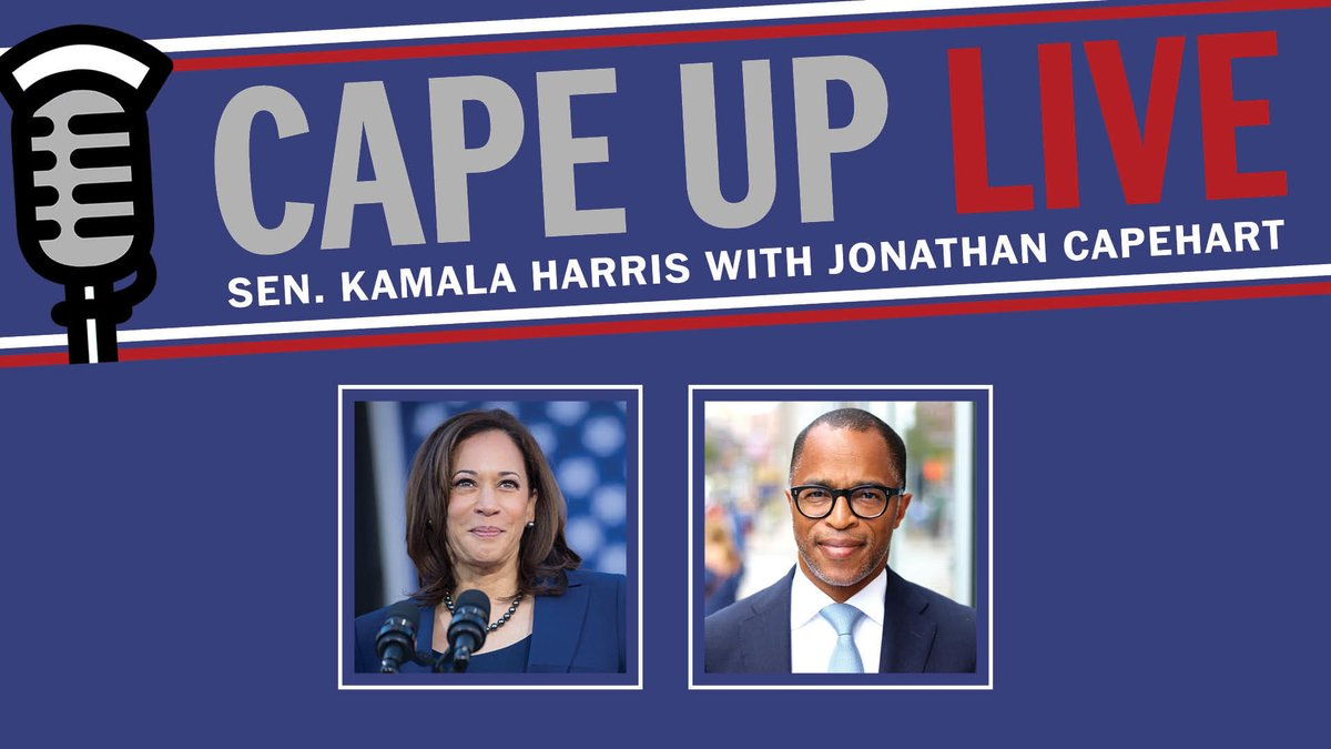Joining @CapehartJ tomorrow at 3:30pm ET to chat about what we're doing in Congress to address police brutality and the ongoing coronavirus pandemic. Sign up now: