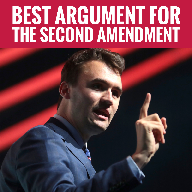 NAILED IT! @charliekirk11 Hits So Many Important Points, Proving That We Absolutely Should Protect The Second Amendment! #GunsSaveLives #YayFor2A