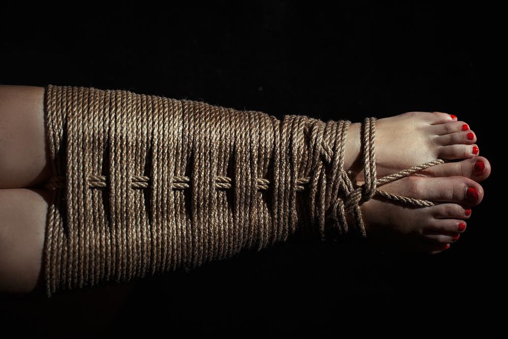 #RopeBondage has been around for centuries and originally derives from the Japanese kinbaku, which means 'tight binding'.  #Bondage #Kinbaku #Shibari #Fetish #C4S RT