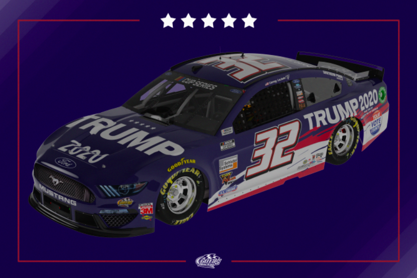 NEWS: Patriots of America PAC partners with GFR, for nine races in 2020 season.   @CoreyLaJoie will debut this patriotic red, white, and blue scheme at @IMS this Sunday.
