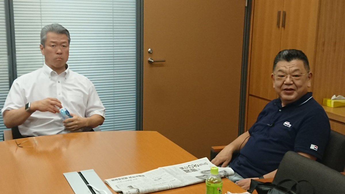 test ツイッターメディア - ジャーナリスト須田慎一郎さんのYouTube番組の取材です。 都立上野高校の先輩・後輩トークで話が弾みます。 ちなみに馬淵が一年先輩です(笑)。 https://t.co/27kkt2oL7H