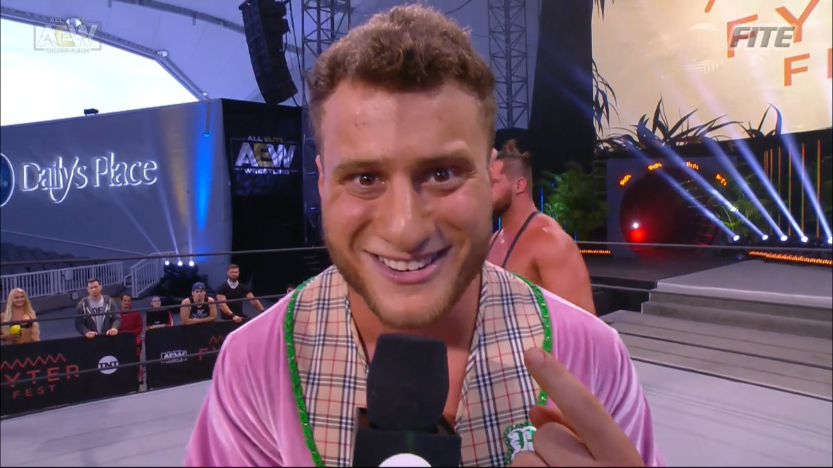 """""""We're in a ratings war ladies and gentleman and how do you expect to get a W without one man on the front line and his name is Maxell Jacob Friedman."""" - MJF   #AEWFyterFest #AEWDynamite #AEWonTNT #AEW #AllEliteWrestling #AEWDark #ImWithAEW #AEWonTSN #AEWPlus #Wardlow #JungleBoy"""