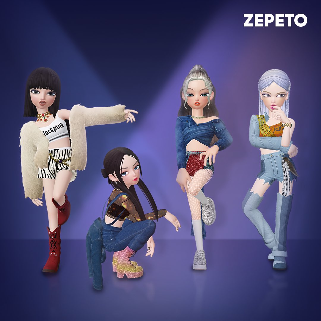 BLACKPINK's #HowYouLikeThat items are here 🖤💕 Upload your look on social media to win an item & a signed CD!  Must have #ZEPETO_HYLT + ZEPETO code!  ▶Link: