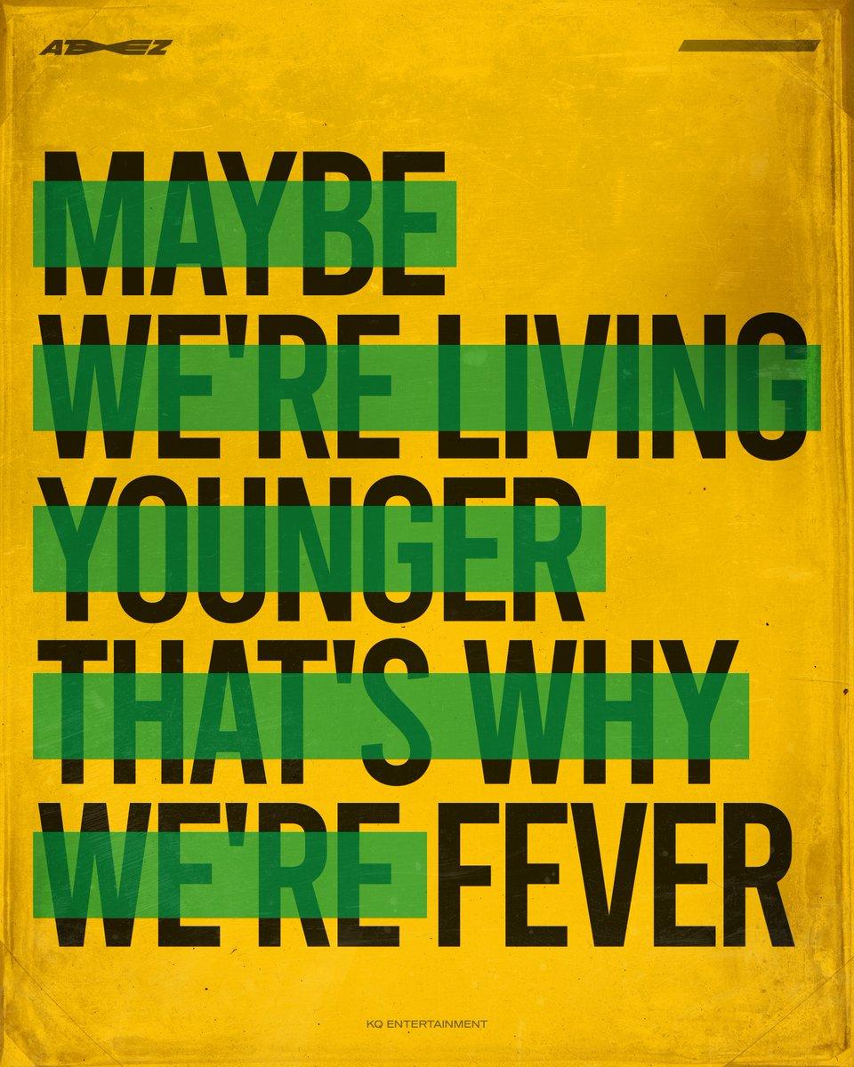 [📷] ATEEZ ⠀ So I gotta let it go. Passion, Young, Fever. ⠀ #ATEEZ #에이티즈