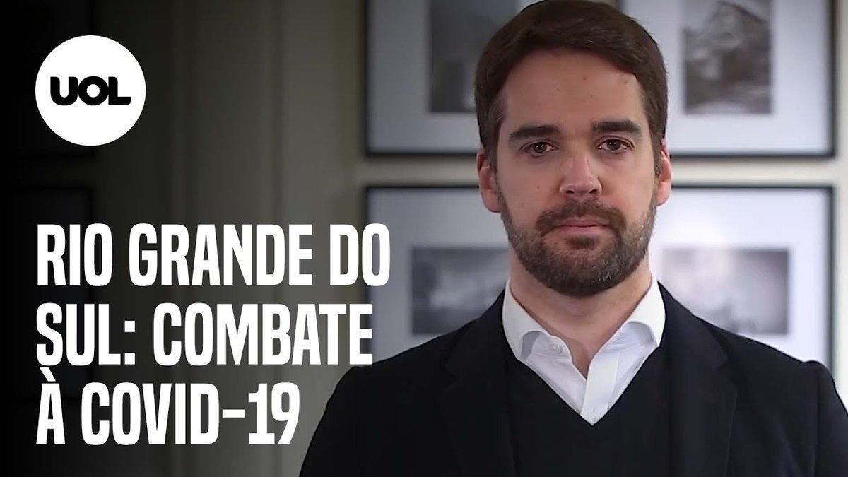 Governador do Rio Grande do Sul, Eduardo Leite (PSDB) se emocionou em pronunciamento e disse que os próximos 15 dias serão cruciais para o estado no combate à covid-19