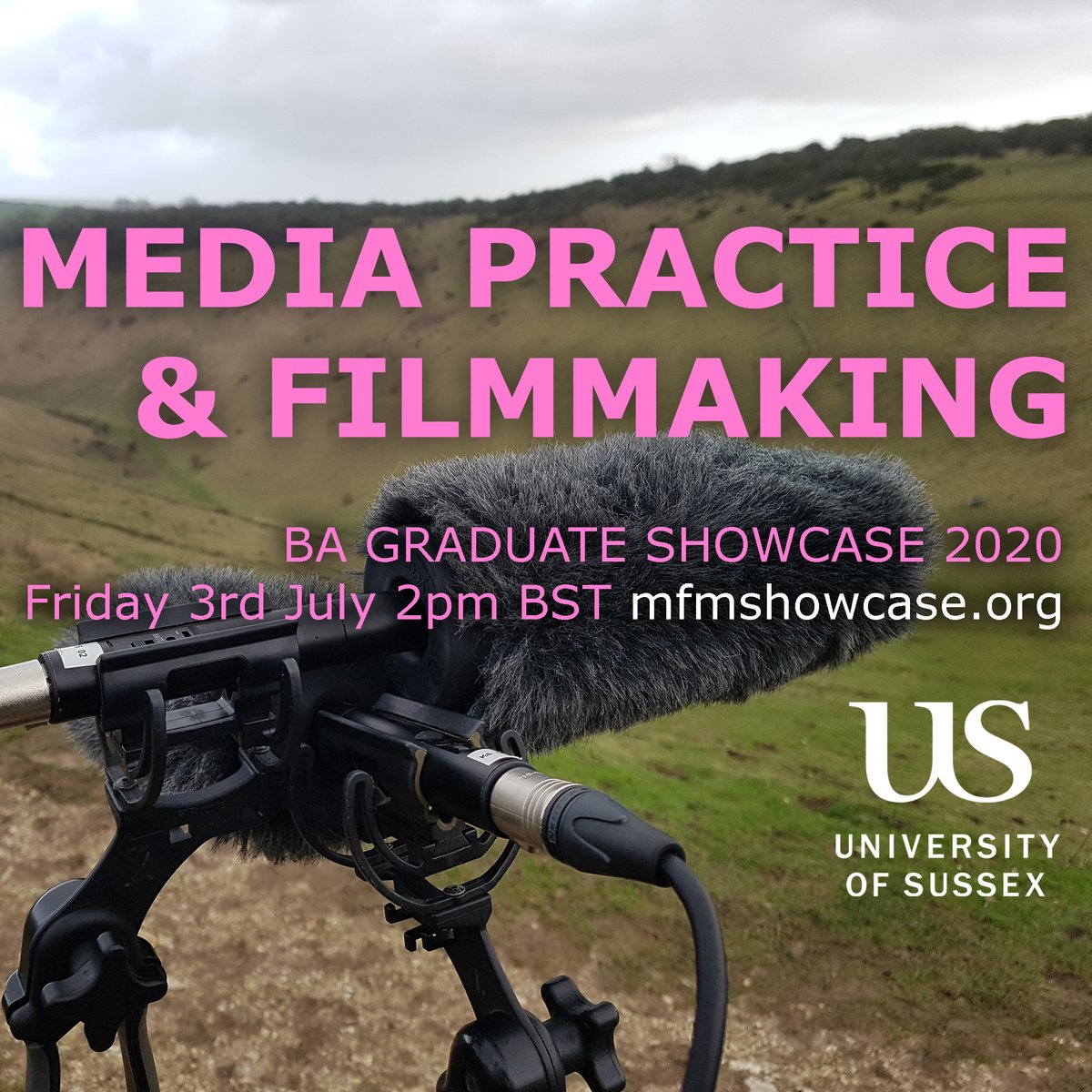 test Twitter Media - Our first cohort from the BA in Filmmaking at Sussex are graduating! A selection of their work will be available from 2pm on 3rd July at https://t.co/wDilhNeqNg   @SussexUniMFM @SussexUniPress @SussexUniStaff https://t.co/mY7aHygs8P