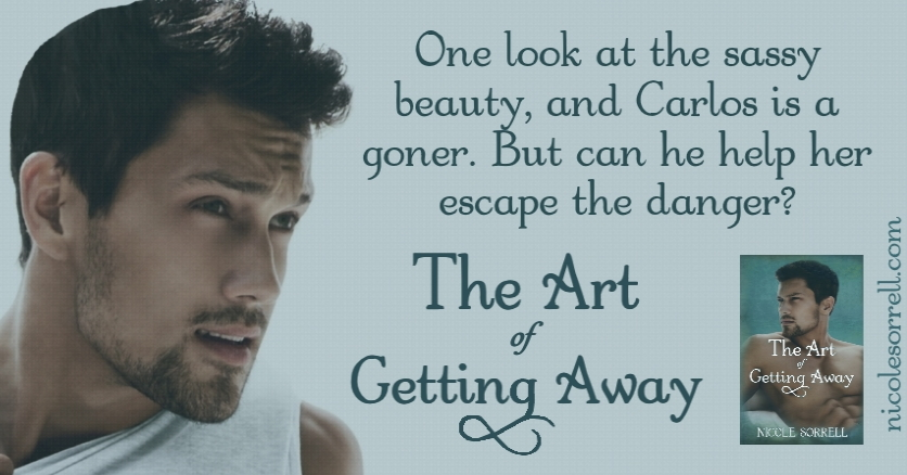 """""""He recognized that somehow she'd eased his burdens. He chided himself. She would've forgotten him in five minutes after that thank you kiss.""""  THE ART OF GETTING AWAY  #Standalone #romance with #suspense and #mystery! #FREE with #KindleUnlimited"""