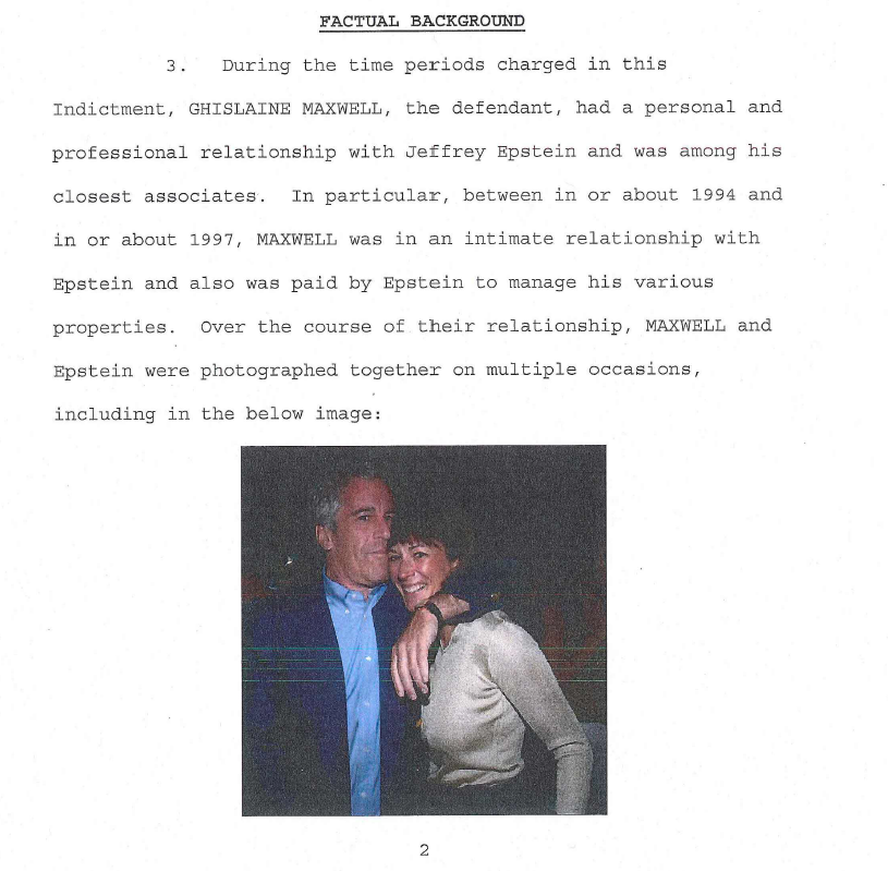 The Maxwell indictment - where she groomed minors for Epstein - focuses on the years 1994-1997.  [I'll later thread why the years are important...]  Minors abused in NY, FL, New Mexico, London.   The full indictment: