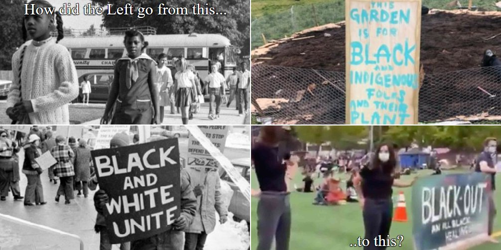 @Timcast The Left: Fighting racism by tearing down freedom monuments and bringing back segregation.