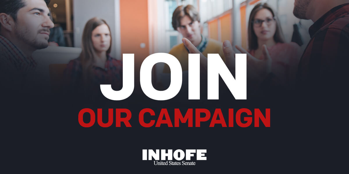 We need you. Join the fight for Oklahoman values. Sign up here: