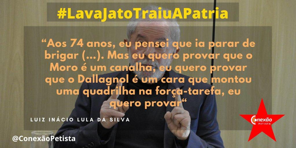 Lula só falou verdades! Cadeia pra Sergio Moro e Dallagnol!  #LavaJatoTraiuAPatria