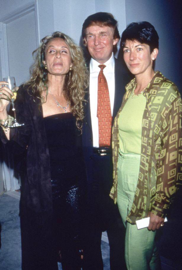 I'm sure Donald Trump wouldn't mind Twitter users retweeting in the tens of thousands all the pictures of him with the woman who was arrested in New Hampshire today, of which massive photographic archive these are just four exemplars