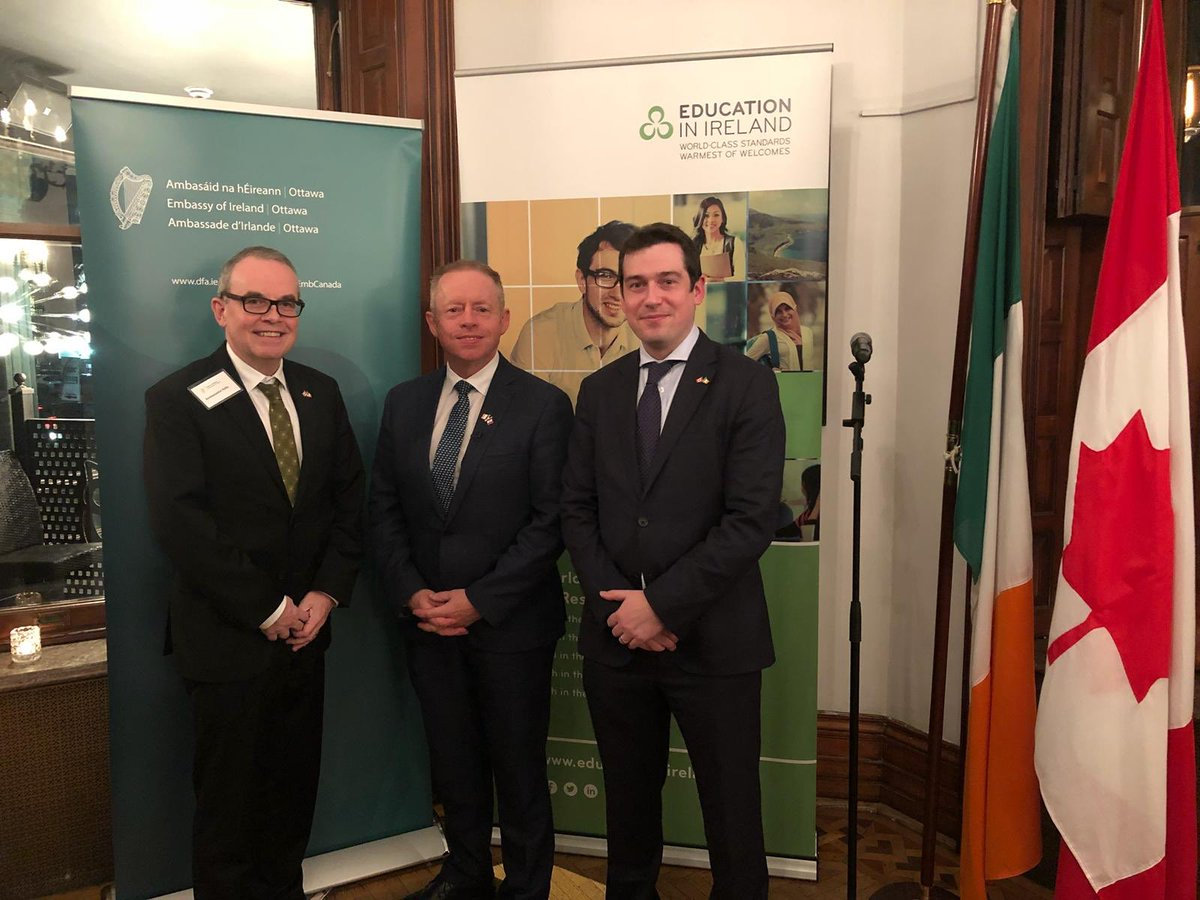 test Twitter Media - (2/2) And again in October 2018, when @ciarancannon visited Toronto for a @GlobalIrish @Entirl @EduIreland alumni event. During this visit, we were delighted to visit our friends in the Emerald Isle Seniors Group, ICAN @irishcdnorg and @IrelandParkTO. Thank you for everything! https://t.co/eViO8th6zh