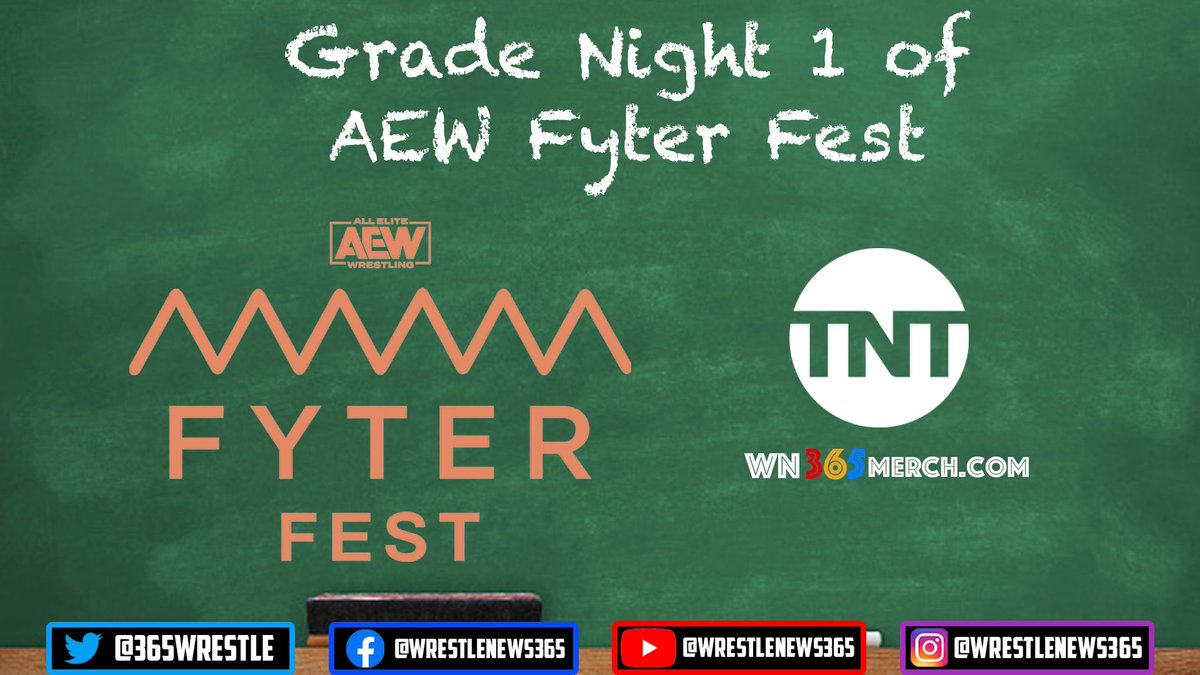 Last night AEW Fyter Fest Night 1 emanated from Daily's Place in Jacksonville, Florida on TNT.  How would you grade last night's edition of AEW Fyter Fest?  #AEW #AEWDynamite #ChrisJericho #BrianCage #FyterFest #OrangeCassidy #Cody #JungleBoy #MJF #KennyOmega #HangmanPage #FTR
