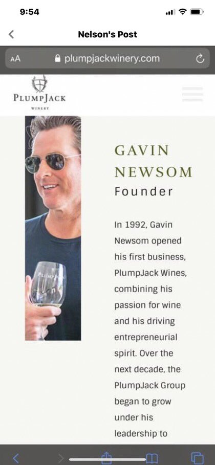 So Gavin Newsom is closing down restaurants and bars and destroying family-owned businesses all over California. Oh wait, here's one that's still open! 👇🏼