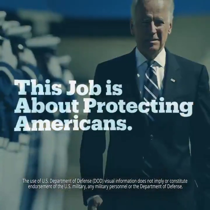 What makes a president?   Strength. Courage. Compassion. Resilience.  That's a President. That's @JoeBiden.