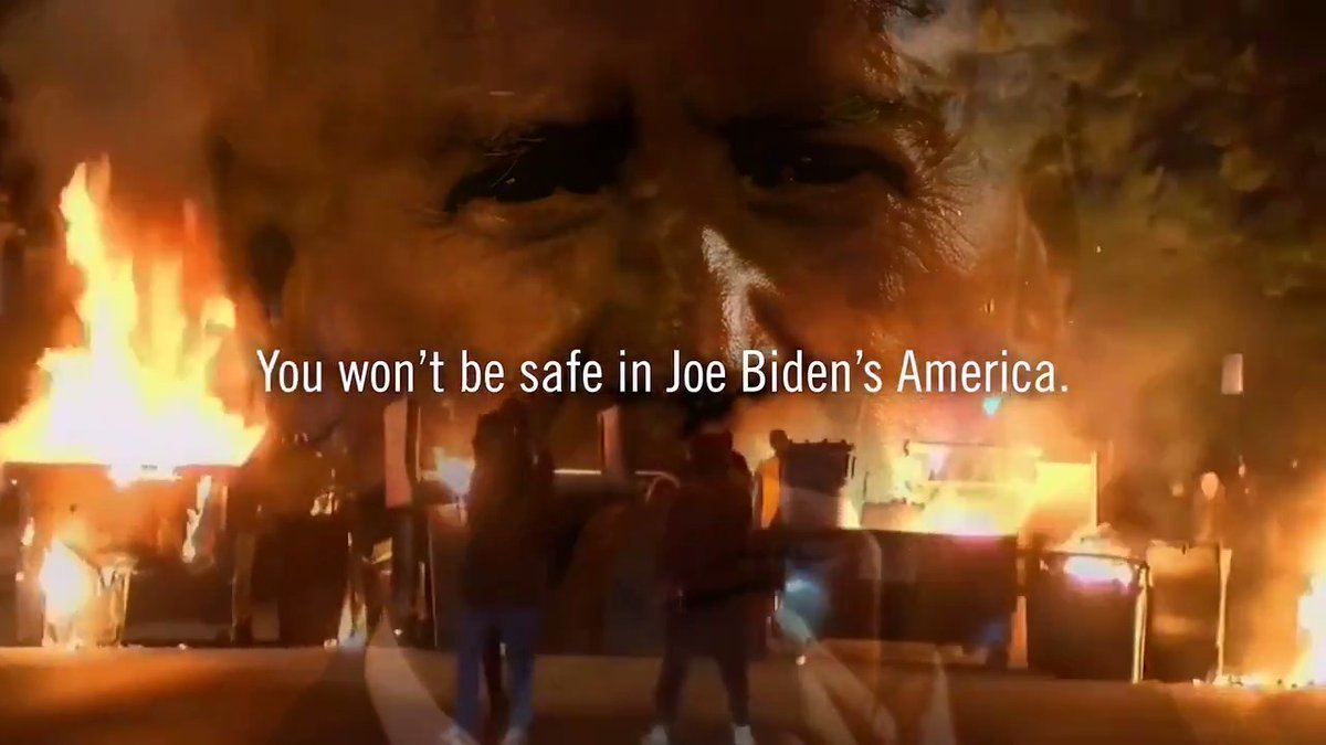 Joe Biden's allies are doing everything they can to Defund the Police.  If you call 911, who will answer the phone?  You won't be safe in Joe Biden's America.