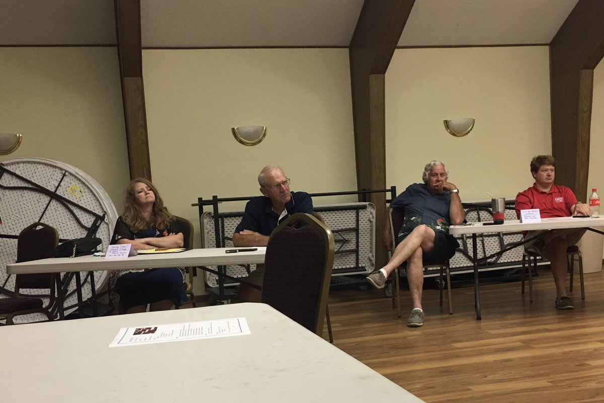 Was really nice to attend, in person, Mahaska County GOP CC meeting and great to see Senator Rozenboom and Rep Hite. Of course, there was appropriate social distancing. They are fired up for the November election and will turn out the vote! Marion County next on itinerary. #IA02