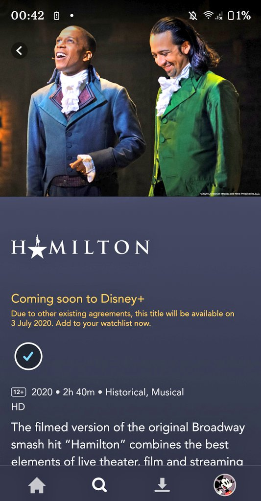 test Twitter Media - It's already past midnight on July 3rd... why can't I watch Hamilton yet, @disneyplus ? https://t.co/WrHf8mhTfa