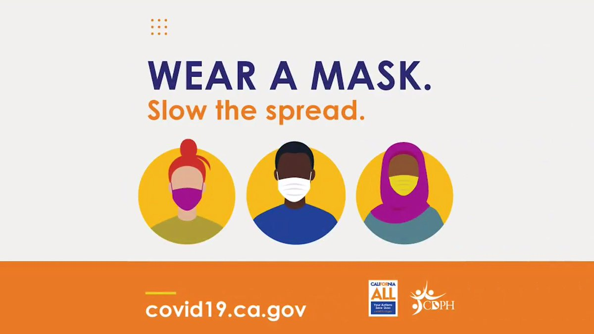 You heard @SteveKerr!🏀 Masks up, California!😷   As we head into the holiday weekend, make sure to wear your face coverings and keep 6 feet of distance from others.   It's going to take all of us to slow the spread of #COVID19.  📽: @warriors