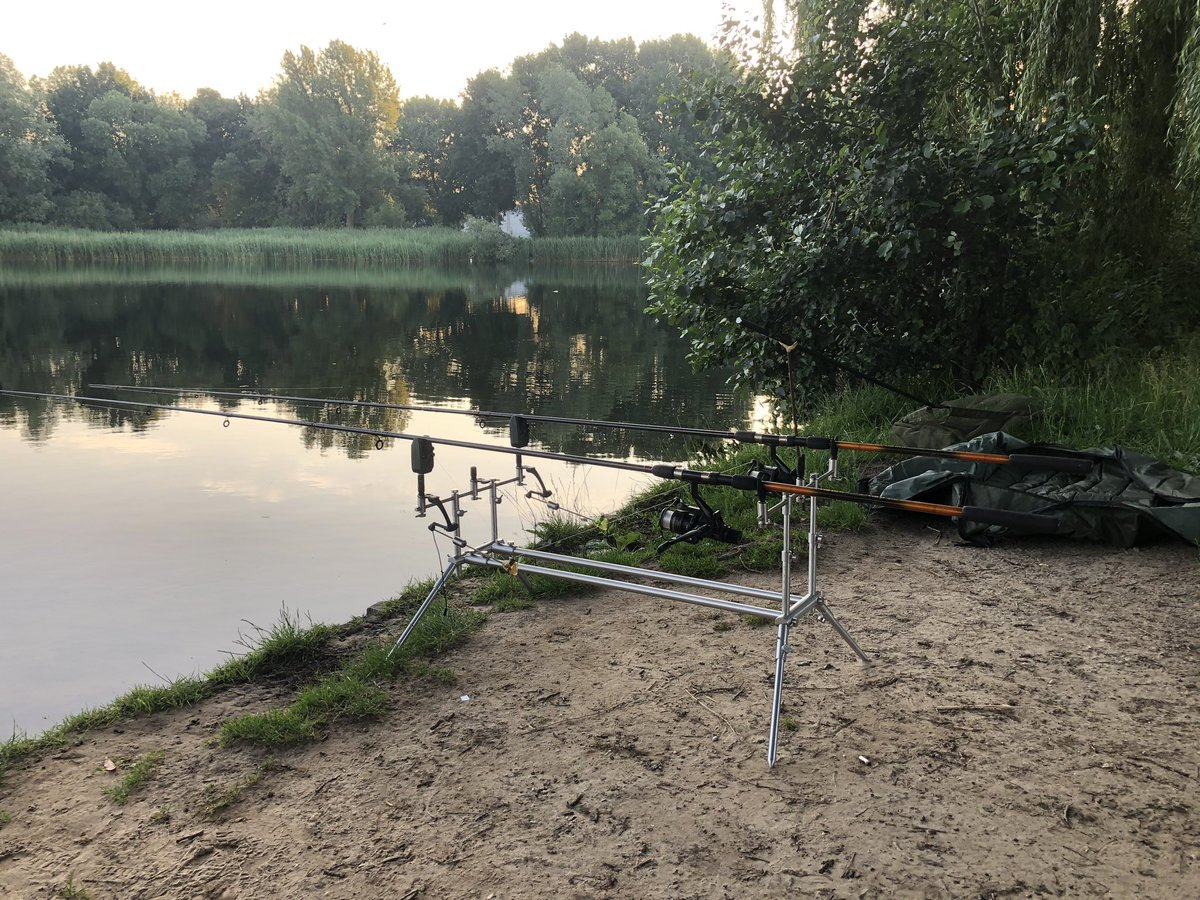 It's a beautiful day. So let the games begin! #carp #carpfishing #angling #karper #<b>Karpervissen